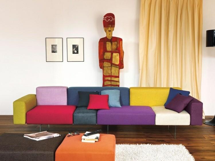 Modelos de sofas y asientos treinta y cuatro dise os fabulosos - Colores de sofas ...