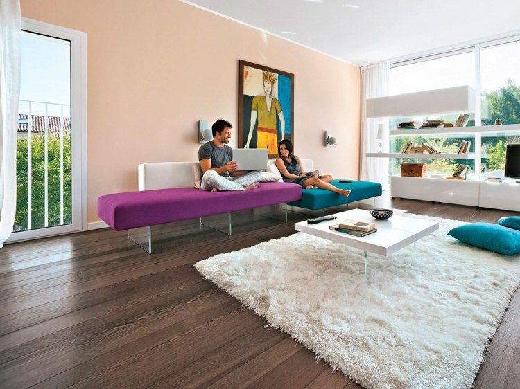 modelos de sofas modernos de la firma lago