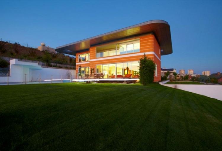 modernas casas estilos rentes cesped