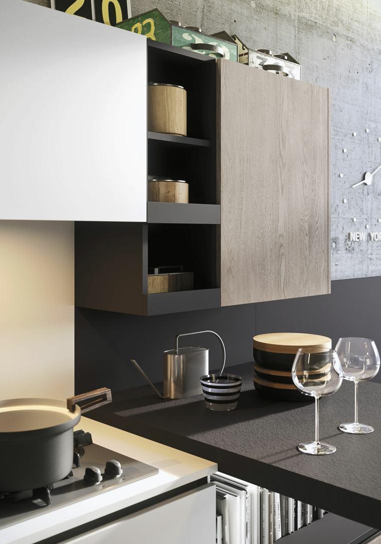 muebles cocina armarios modulares modernos