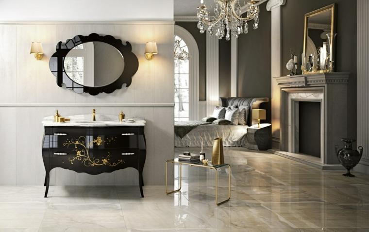 Muebles de bao italianos con diseo clsico