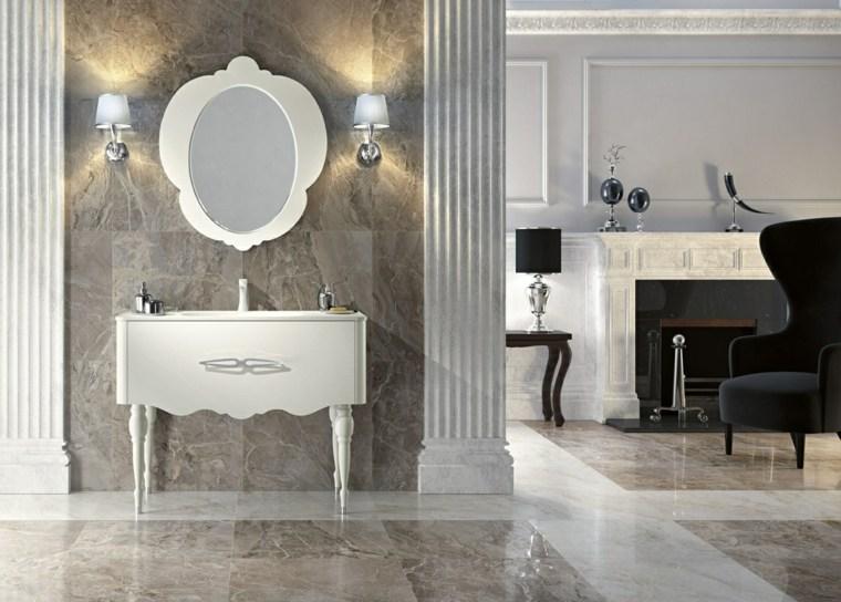 muebles de baño italianos con diseño clásico - - Muebles De Bano Diseno Italiano