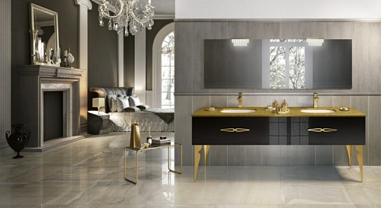 Muebles de ba o italianos con dise o cl sico - Diseno de muebles ...