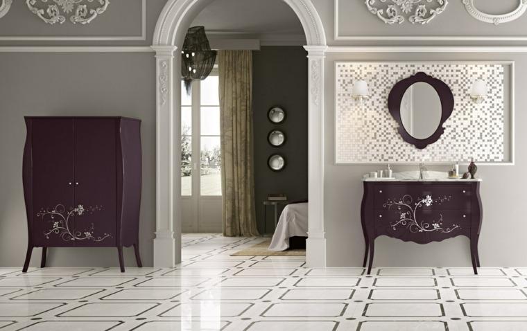 Baños Diseno Clasico:muebles bano diseno clasico purpura ideas