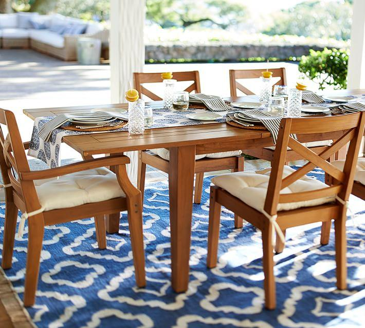 Muebles de madera teca 24 ideas para la terraza - Muebles exterior madera ...