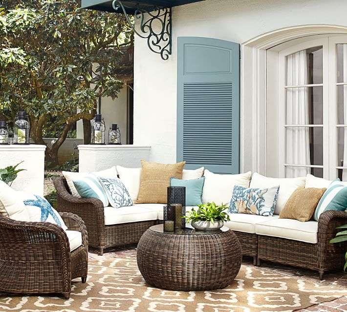 muebles de terraza baratos mesa ratan sofa ideas - Sofas De Jardin Baratos