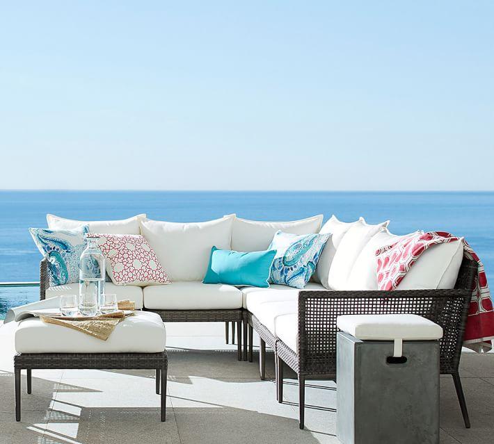 muebles de terraza baratos seccionales grices ideas