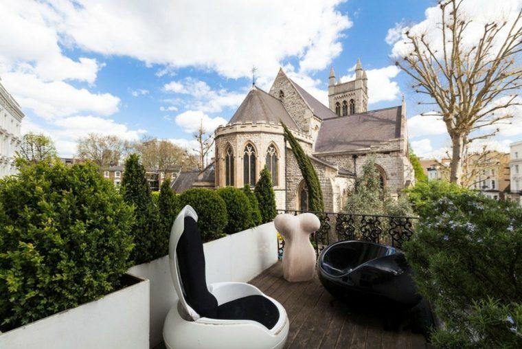 muebles diseno terraza pequena ideas