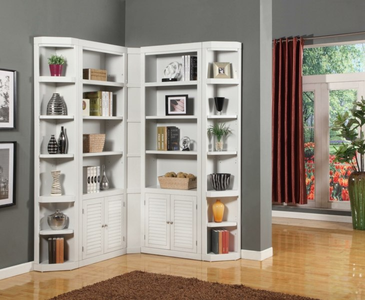 muebles estilos blancos conceptos grises