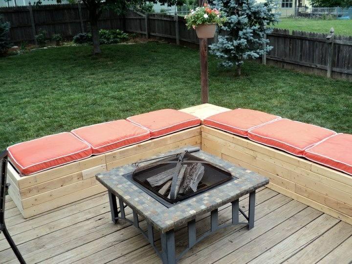 muebles jardin con palets tablas pegamento madera