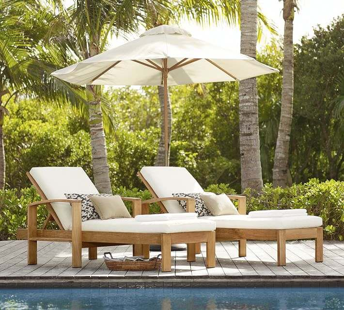 Muebles de madera teca 24 ideas para la terraza - Muebles de piscina ...
