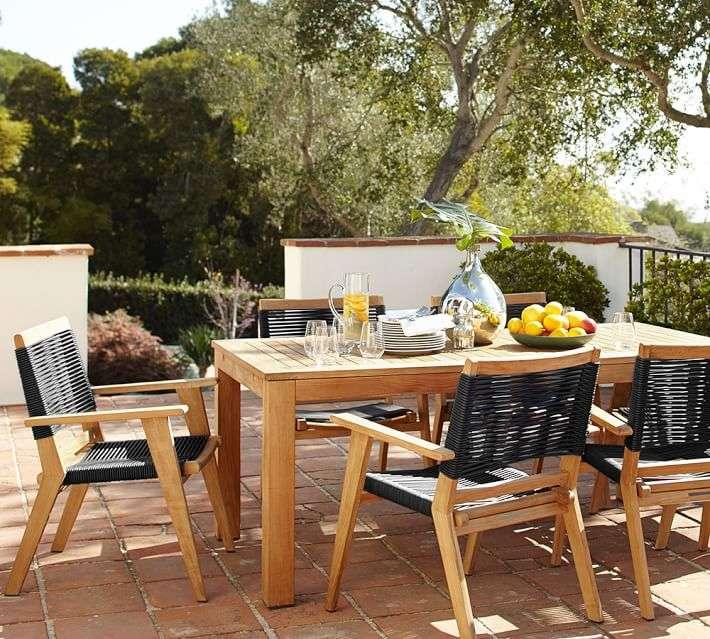 Muebles de madera teca 24 ideas para la terraza for Muebles de madera para patio