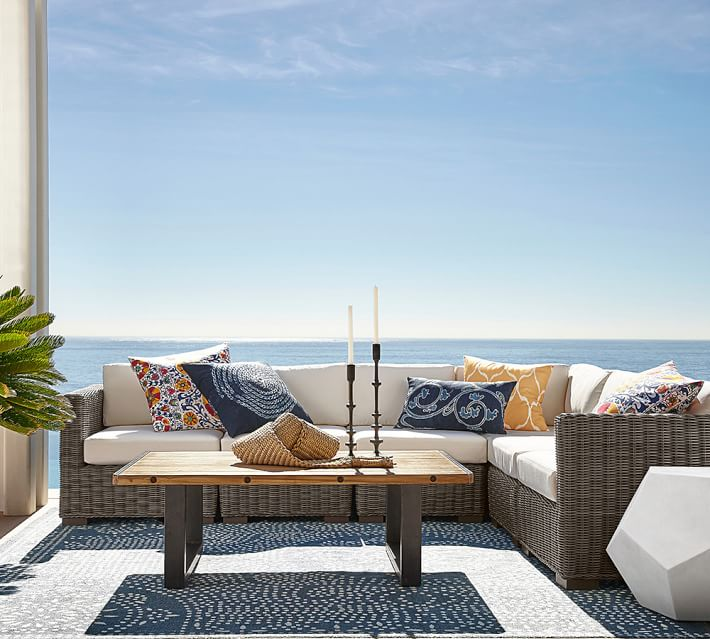 Decoracion terrazas 24 opciones de muebles de rattan