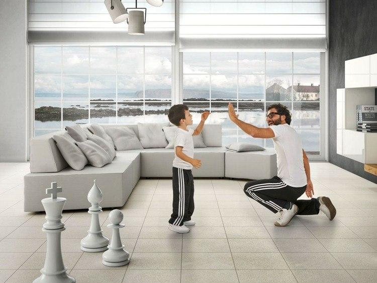 muebles sofas estilo moderno gris