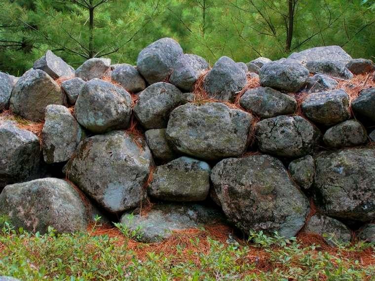 diseo muros de piedra seca