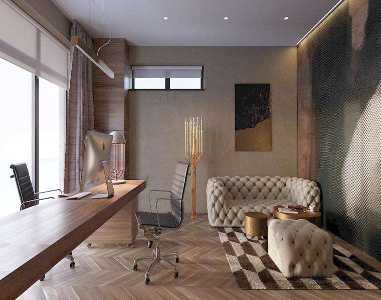 Casas de lujo - tres diseños de interiores impresionantes -