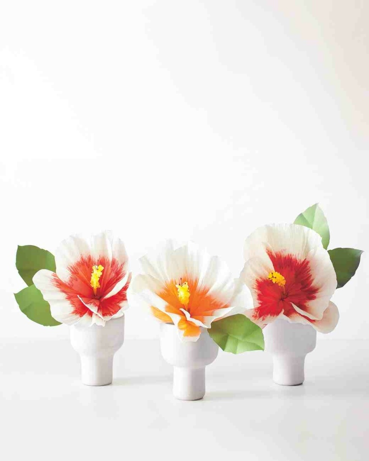 originales florescillas deco papel
