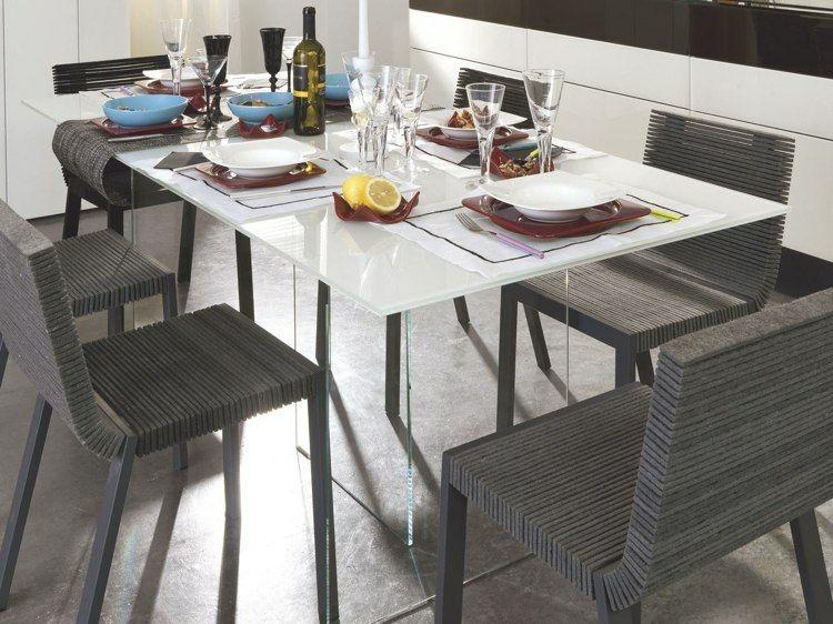 original conjunto sillas comedor modernas
