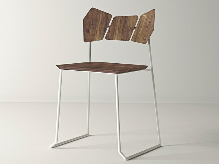 diseño silla madera moderna