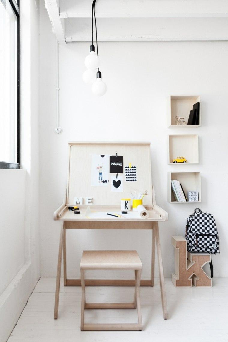Escritorios juveniles 24 modelos funcionales y modernos - Mueble escritorio moderno ...