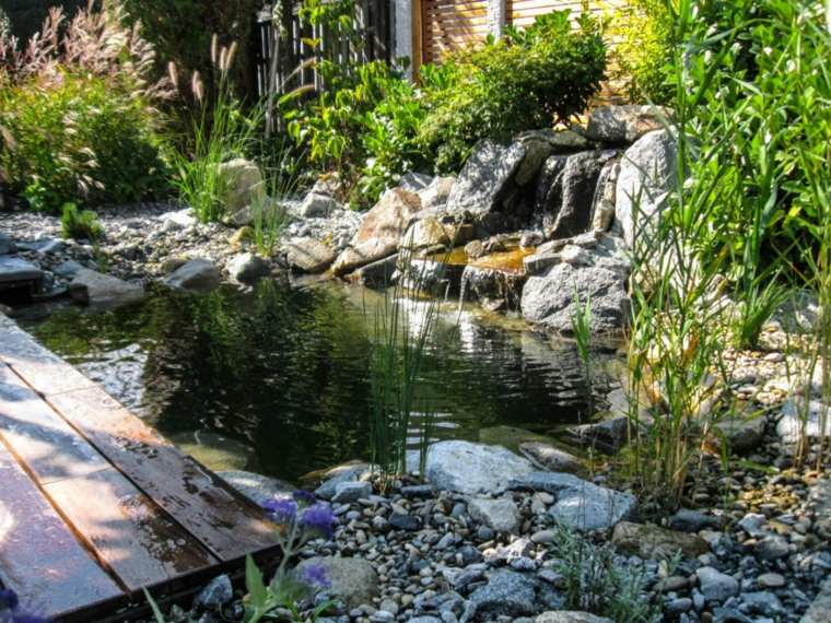 original fuente jardin cascada
