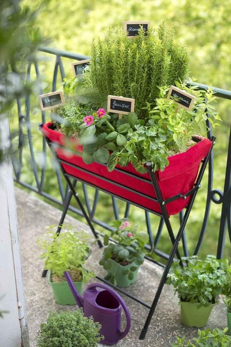 original jardinera huerto pequeño casa