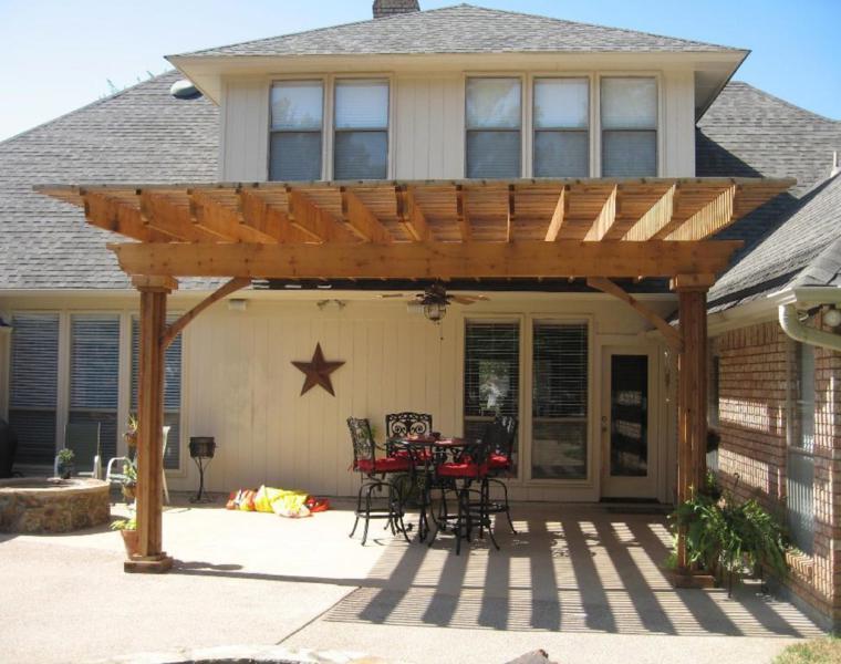 original diseño pérgola porche