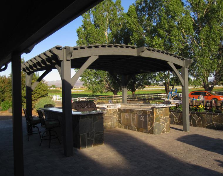 original diseño tejado curvado