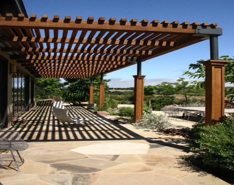 cubiertas madera estilo moderno