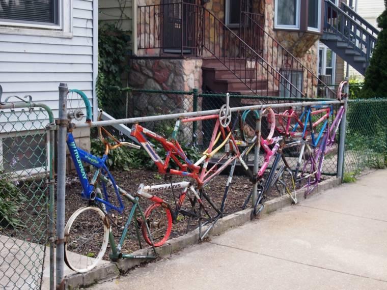 original valla reciclada bicis usadas