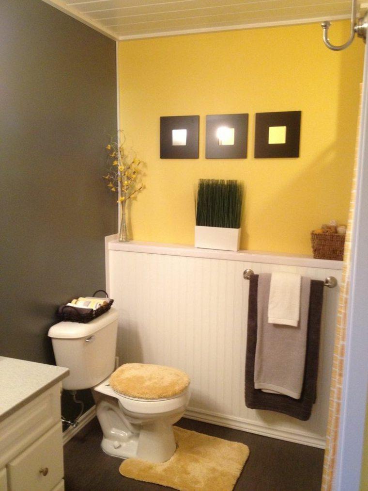Accesorios Baño Gris:Los baños y los aseos pequeños también son escenarios perfectos