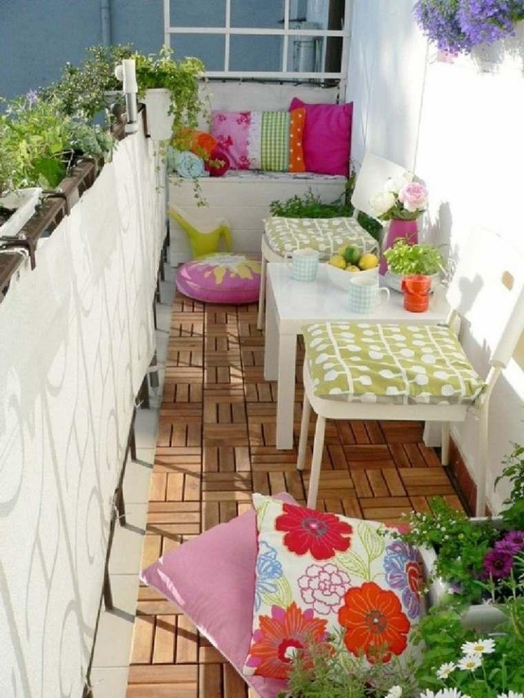 original decoración terraza pequeña