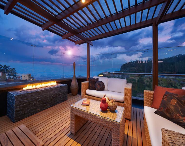 original diseño terraza lujosa