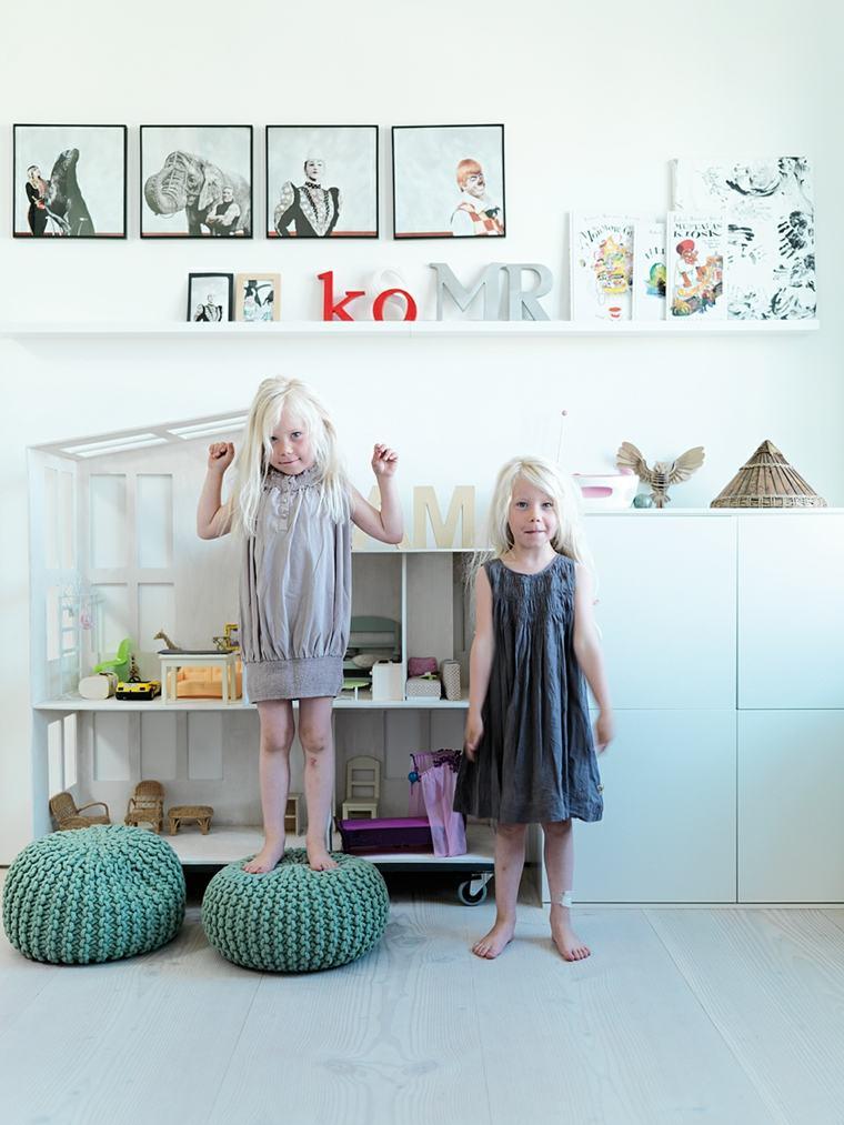 originales diseños cuartos infantiles nórdicos