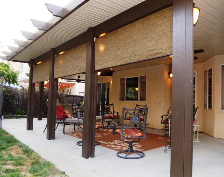 originales porches terraza jardín