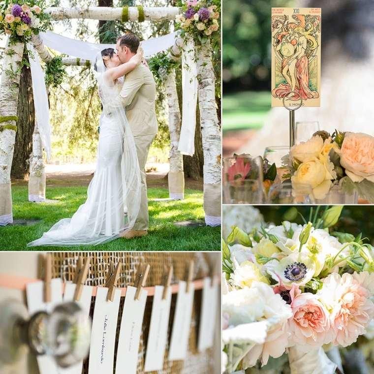 originales diseños decoración boda