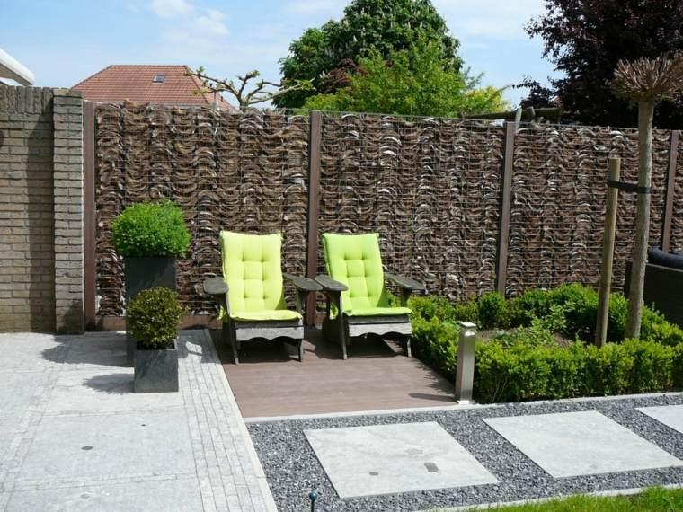vallas modernas diseño jardin