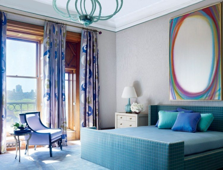 Cortinas para dormitorios veinticuatro dise os de moda - Tipos de cortinas para dormitorio ...