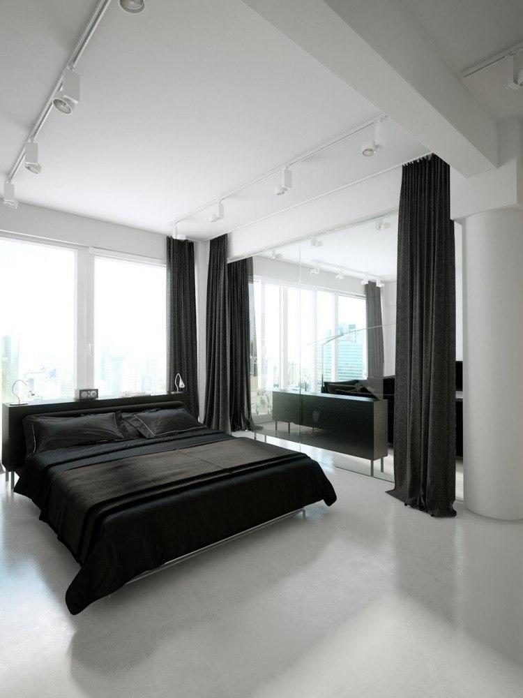 originales cortinas gris oscuro