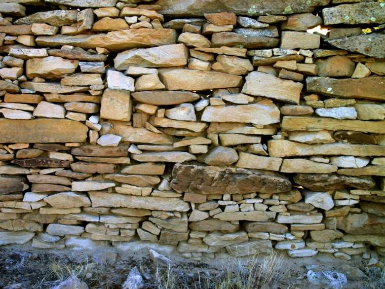 originl diseño muro piedra