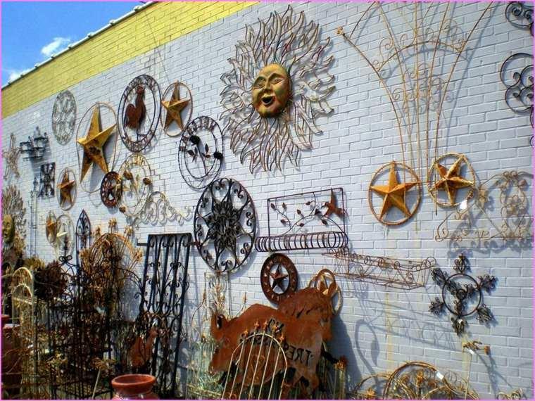 orignales adornos metalicos pared
