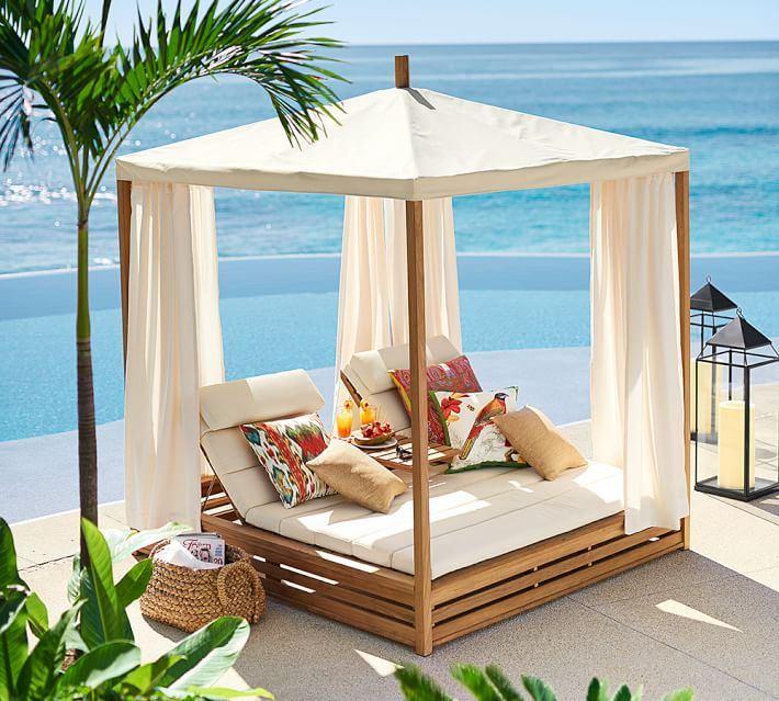 cama madera jardin moderno opciones espectaculares