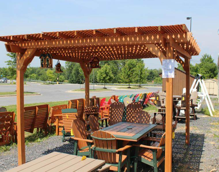 pérgolas modernas madera diseño