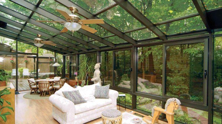 pabellon jardin diseno salon exterior moderno ideas