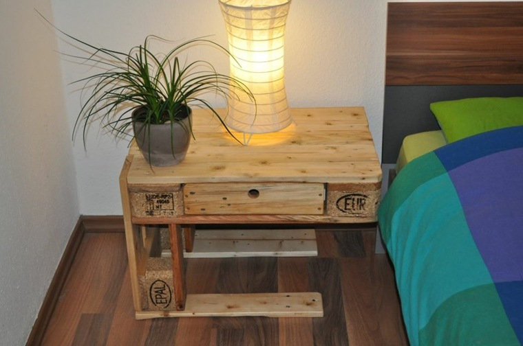 palets madera recuperada ideas gaveteros