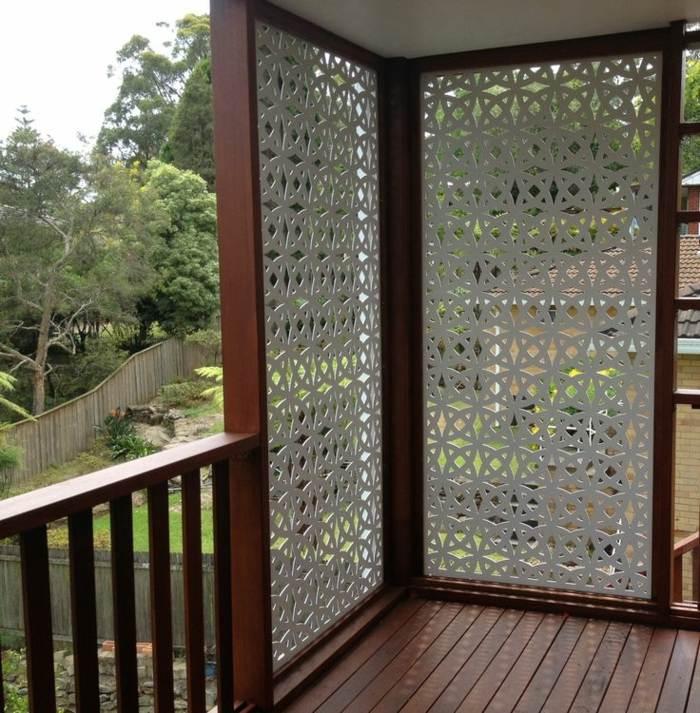 paneles madera trabajados artistico blanco