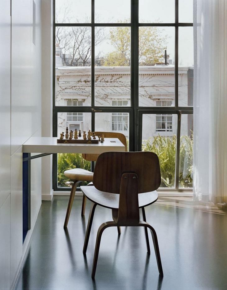 paredes ideas juegos sillas madera