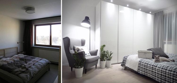 pequeño luminosa habitacion cortinas muebles