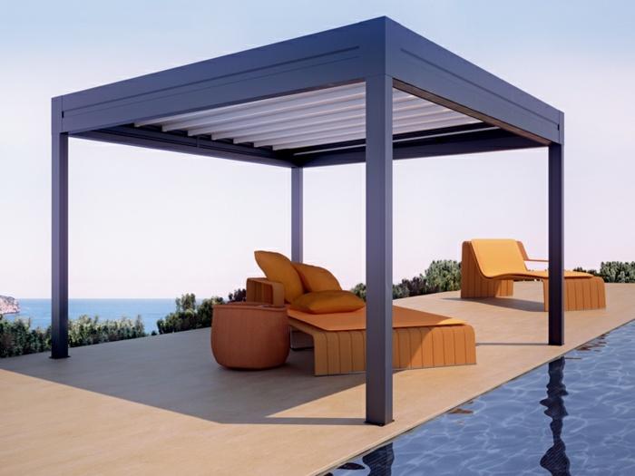 pergolas aluminio techo puedes quitar ideas