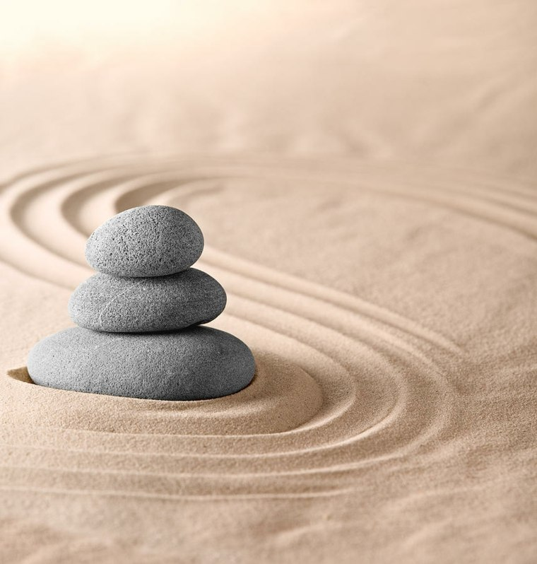 Piedras zen dise os de decoraci n japonesa para tu jard n for Jardin zen significado